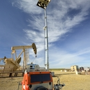 LLTT-H hybrid led light tower by verdegro suitable for oil and gas industry